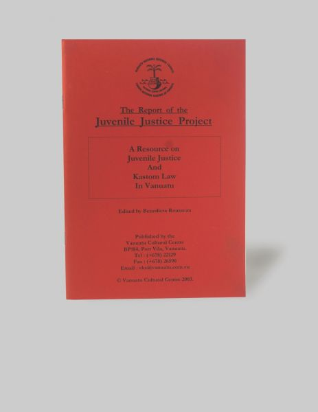 The report of the Juvenile Justice Project